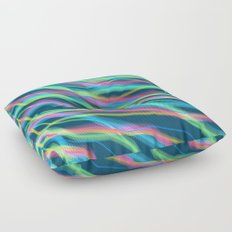 80s Ripple Floor Pillow