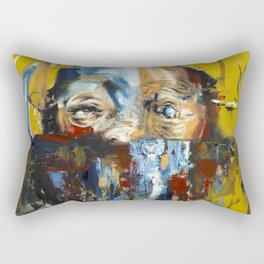 """Impossible Monsters """"Yellow"""" Rectangular Pillow"""