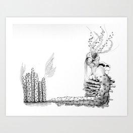 Deep Sea Biology Art Print