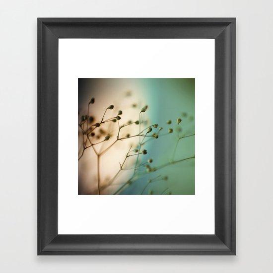 strange attractors Framed Art Print