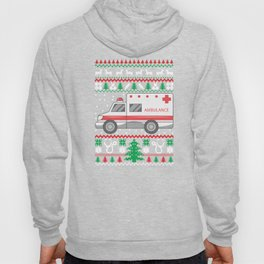 Paramedic Ugly Christmas Sweater Funny Holiday T-Shirt Hoody