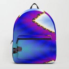 Step Back Fractal Pattern 2 Backpack
