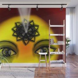 Internal Eye Vision light Wall Mural