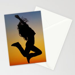 Shadow Sunset Stationery Cards