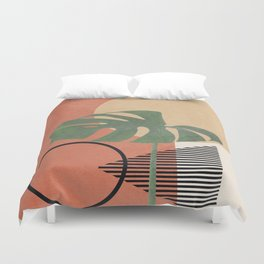 Nature Geometry I Duvet Cover