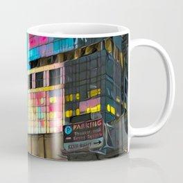 NYC Skyline at Sunset Coffee Mug