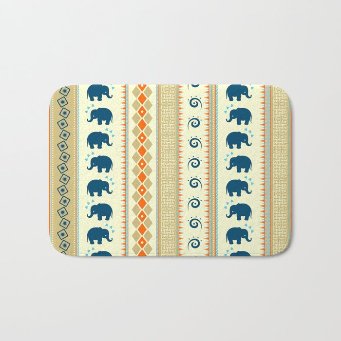 Ethnic Pattern Bath Mat