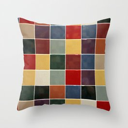Checkers fine art photography Throw Pillow