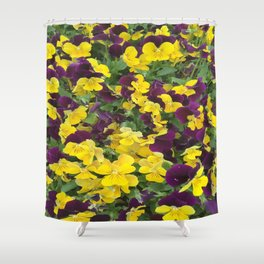 Pansy so cute Shower Curtain