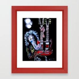 Jimmy Page Framed Art Print
