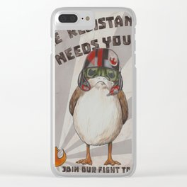 The Resistance Needs You Clear iPhone Case