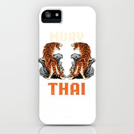 Muay Thai iPhone Case