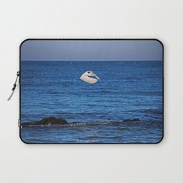 Egret on Caspersen Laptop Sleeve