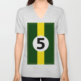 Lotus Racing Design Unisex V-Neck