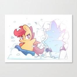Breaker Canvas Print