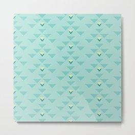 Triangle force Metal Print