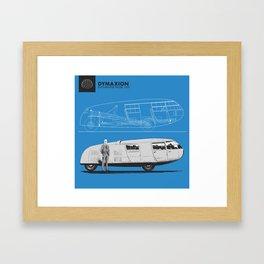 Dymaxion Framed Art Print