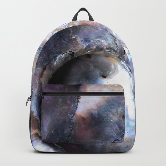 Shell Abstract Backpack