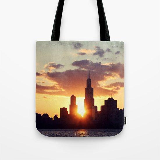 Chi Sky Tote Bag