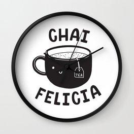 Chai Felicia Wall Clock