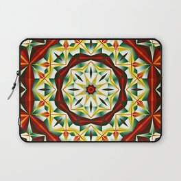 Winter cheer, abstract pattern design Laptop Sleeve