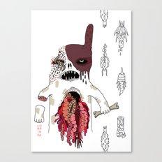 Zombie Dog Canvas Print