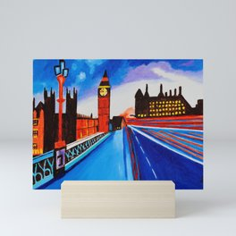London At Night Mini Art Print