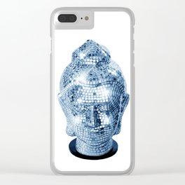 BUDDHA DISCO Clear iPhone Case