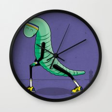 Worming Up Wall Clock