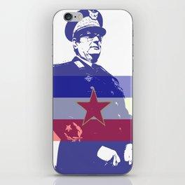 JOSIP BROZ TITO CHAIRMAN YUGOSLAVIA iPhone Skin