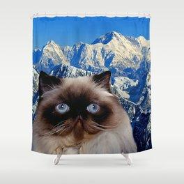 Himalayan Cat Shower Curtain
