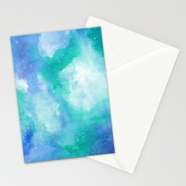 Wintergreen Galaxy Stationery Cards