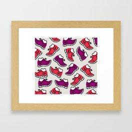 BHS 10K Run Framed Art Print