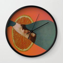 Fruit Portrait II Wall Clock
