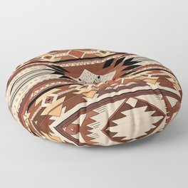 Native feather Floor Pillow