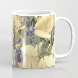 Mexican Goldpoppies & Desert Lupine by Murray Bolesta Coffee Mug