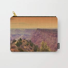Grand Canyon before sunset. Carry-All Pouch