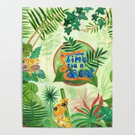 Medilludesign Ecotherapy Jungle Poster