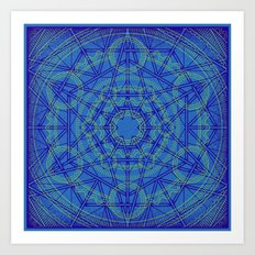 Geometraglyph IV Art Print