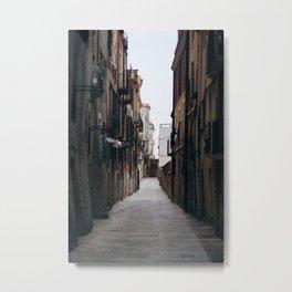 Tarragona Streets Metal Print