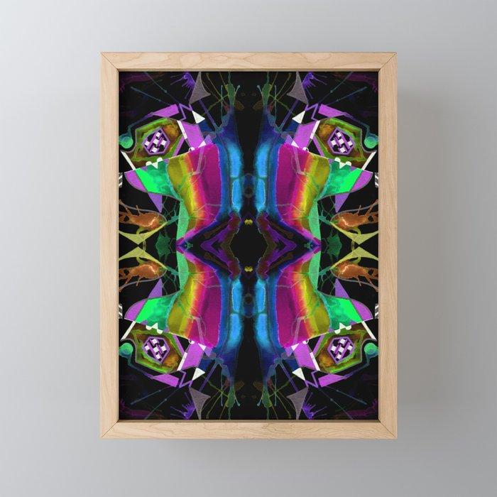 二 (Èr) Framed Mini Art Print