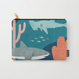 Silly Sharks Carry-All Pouch