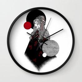 False Innocence Wall Clock