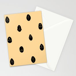 Chinua Achebe African Mask Repeat Stationery Cards