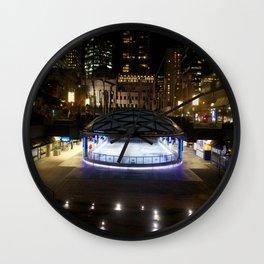 Skating rink Vancouver Wall Clock