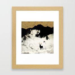Winter Silence Framed Art Print