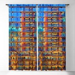 Buildings in Buildings Blackout Curtain