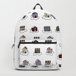 The Holiday Village Backpack