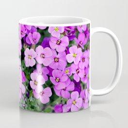 Blue pillow garden plant purple Coffee Mug