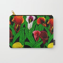 Large Calla Lillies Carry-All Pouch